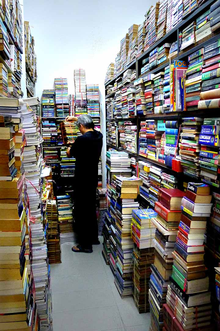 Bookshop Chowrasta Market Penang