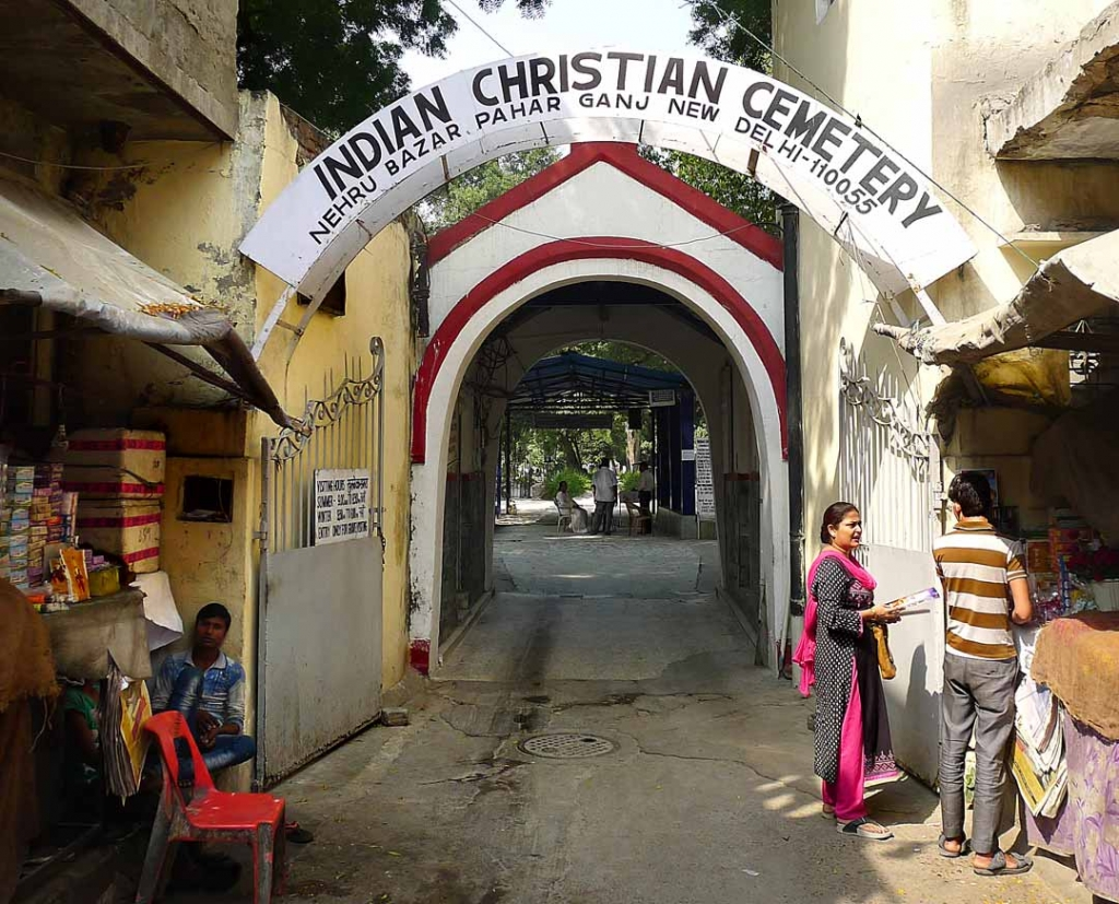 Entrance Indian Christian Cemetery