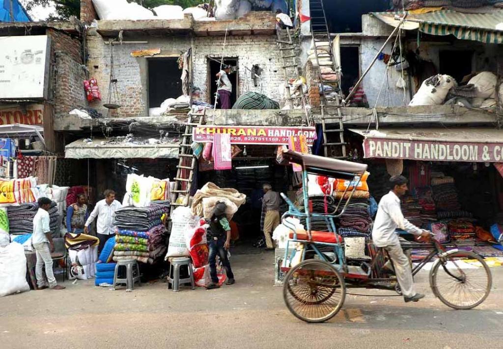 Nehru Bazar New Delhi mattress shop