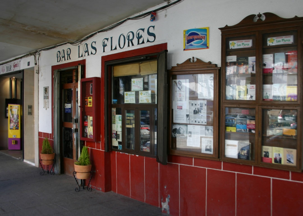 Extremadura bar Las Flores Hervas